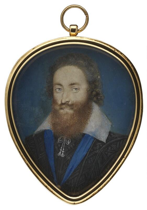 Ludovic Stuart, 1st Duke of Richmond and 2nd Duke of Lennox, by Isaac Oliver, circa 1605 - NPG 3063 - © National Portrait Gallery, London