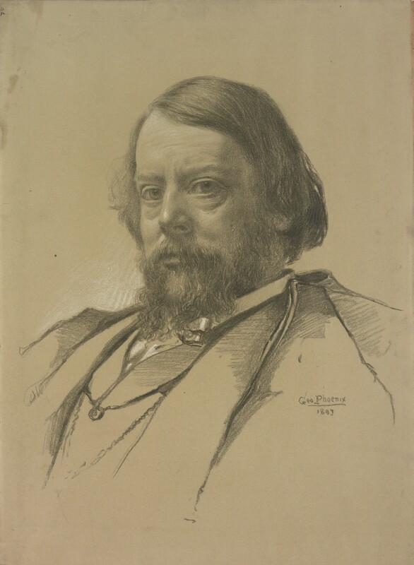 Sir William Blake Richmond, by George Phoenix, 1897 -NPG 2065 - © National Portrait Gallery, London