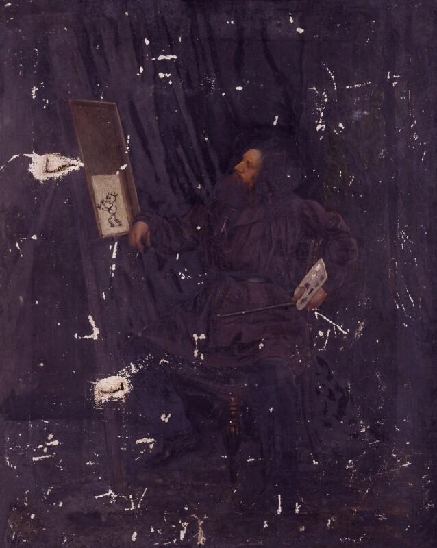 Sir William Blake Richmond, by Unknown artist, 1869? - NPG 2779a - © National Portrait Gallery, London