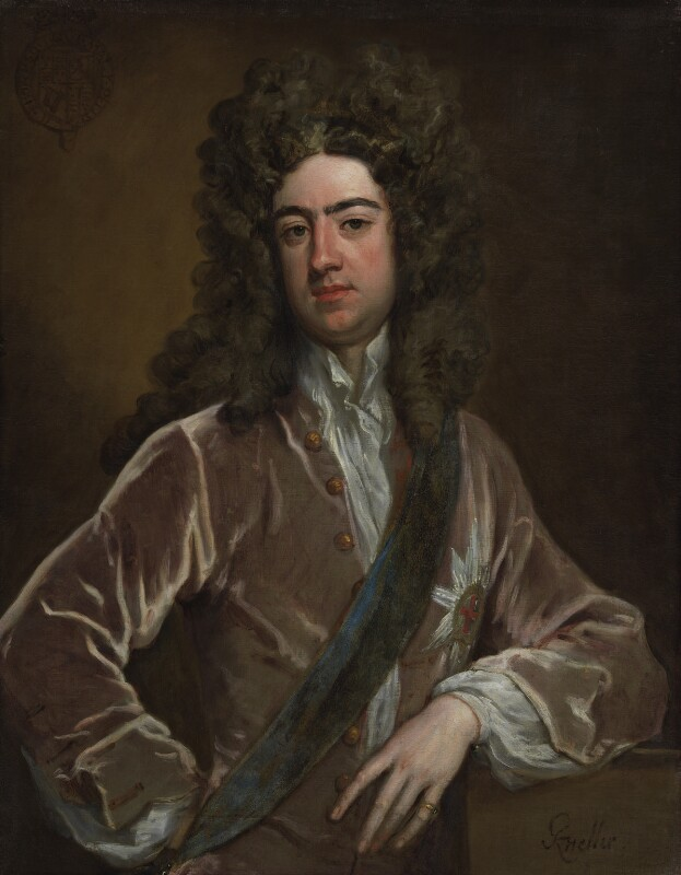 Charles Lennox, 1st Duke of Richmond and Lennox, by Sir Godfrey Kneller, Bt, circa 1703 -NPG 3221 - © National Portrait Gallery, London