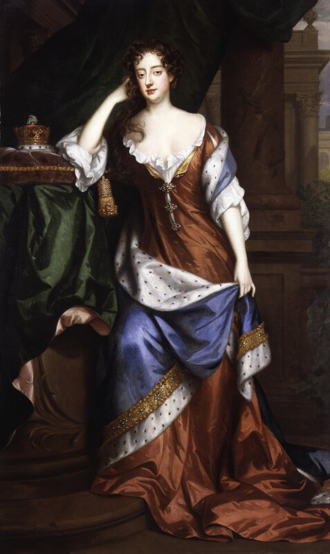 Frances Teresa Stuart, Duchess of Richmond and Lennox, by Willem Wissing, and  Jan van der Vaart, 1687 - NPG 4996 - © National Portrait Gallery, London