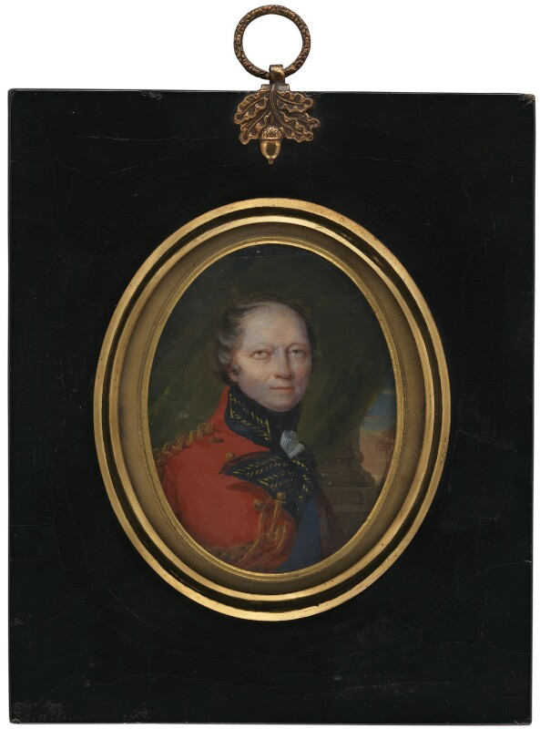 Charles Lennox, 4th Duke of Richmond and Lennox, attributed to Simon Jacques Rochard, circa 1815 - NPG 4943 - © National Portrait Gallery, London