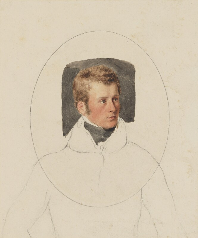 Charles Gordon-Lennox, 5th Duke of Richmond and Lennox, by Thomas Heaphy, 1813-1814 -NPG 1914(12) - © National Portrait Gallery, London
