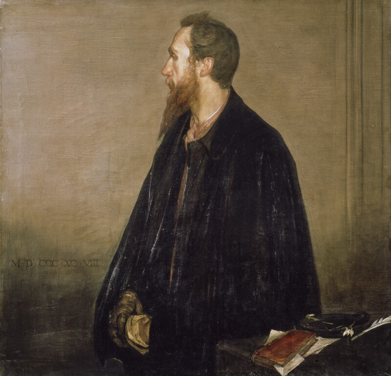 Charles de Sousy Ricketts, by Charles Haslewood Shannon, 1898 - NPG 3106 - © National Portrait Gallery, London