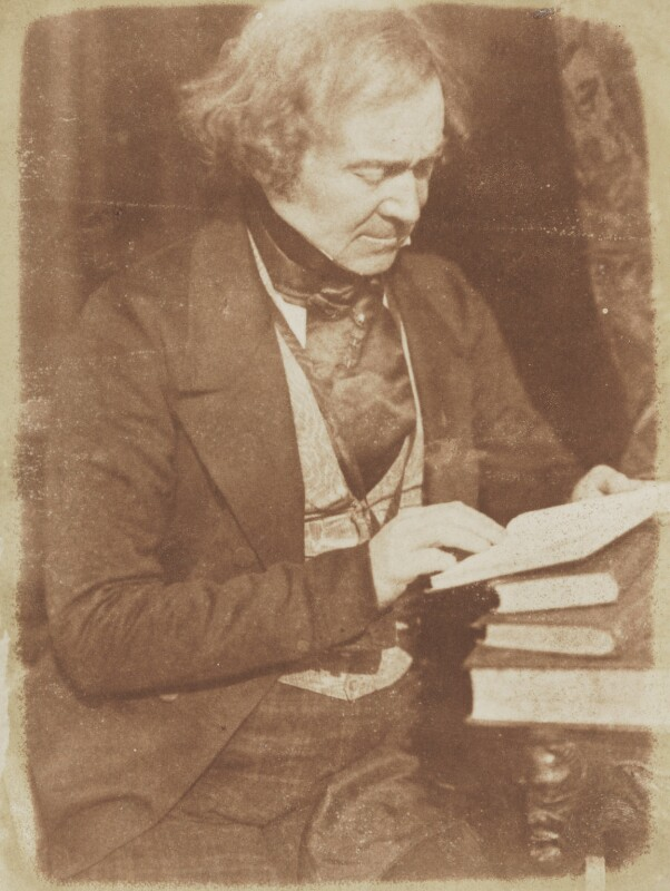 Robert Stephen Rintoul, by David Octavius Hill, and  Robert Adamson, 1843-1848 - NPG P6(79) - © National Portrait Gallery, London