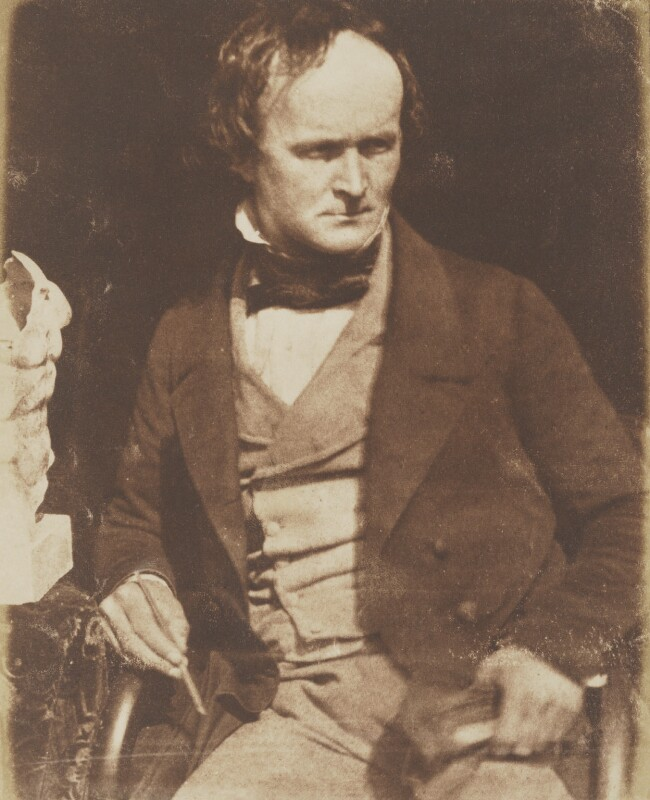 Alexander Handyside Ritchie, by David Octavius Hill, and  Robert Adamson, 1843-1848 - NPG P6(33) - © National Portrait Gallery, London