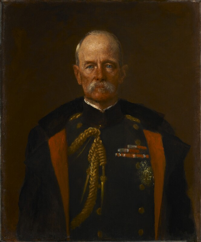 Frederick Sleigh Roberts, 1st Earl Roberts, by George Frederic Watts, 1898 - NPG 1744 - © National Portrait Gallery, London
