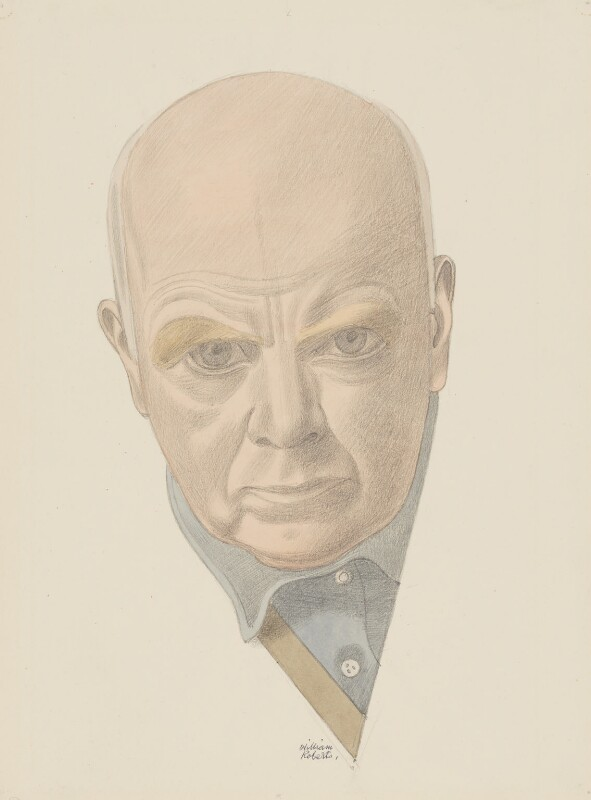 William Roberts, by William Roberts, circa 1965 - NPG 5063 - © William Roberts Society