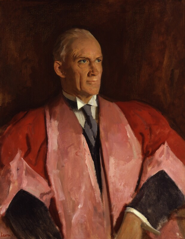 Sir Robert Robinson, by Alfred Kingsley Lawrence, circa 1950 - NPG 5112 - © reserved; collection National Portrait Gallery, London