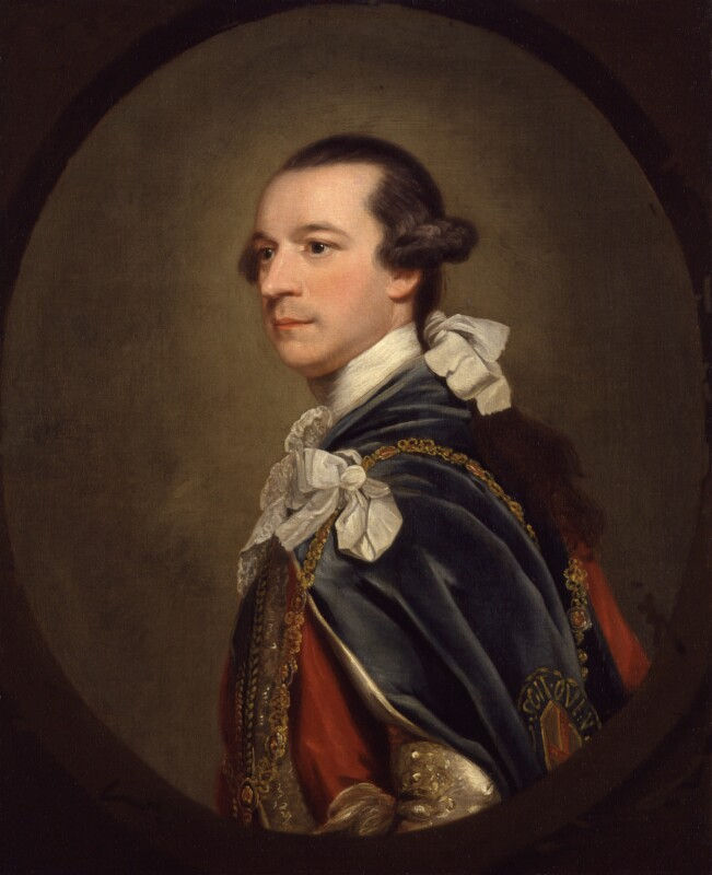 Charles Watson-Wentworth, 2nd Marquess of Rockingham, by Sir Joshua Reynolds, circa 1768 -NPG 406 - © National Portrait Gallery, London