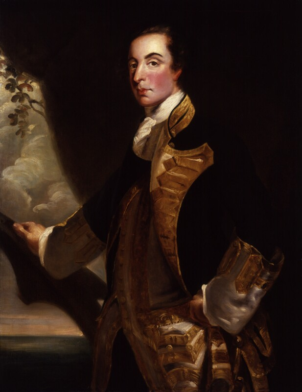 George Bridges Rodney, 1st Baron Rodney, after Sir Joshua Reynolds, possibly 18th century, based on a work of 1756-1759 - NPG 1398 - © National Portrait Gallery, London
