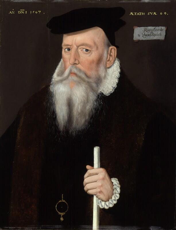 Sir Edward Rogers, by Unknown artist, 1567 - NPG 3792 - © National Portrait Gallery, London