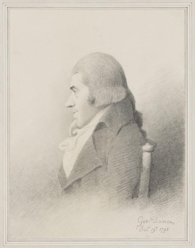 Samuel Rogers, by George Dance, 1795 - NPG 1155 - © National Portrait Gallery, London