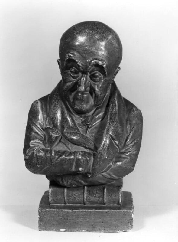 Samuel Rogers, by Jean Pierre Dantan, 1833 - NPG 3888 - © National Portrait Gallery, London