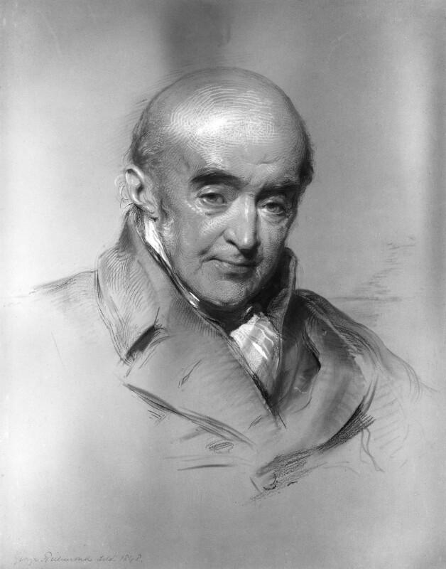 Samuel Rogers, by George Richmond, 1848 - NPG 1044 - © National Portrait Gallery, London