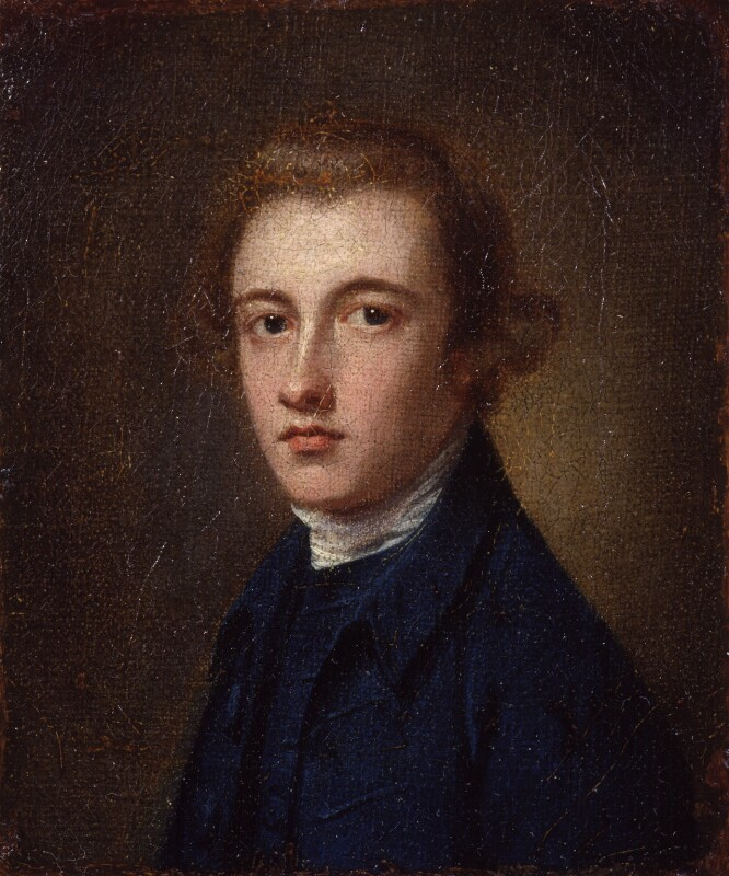 Unknown man, formerly known as Peter Romney, by George Romney, circa 1765? - NPG 1882 - © National Portrait Gallery, London
