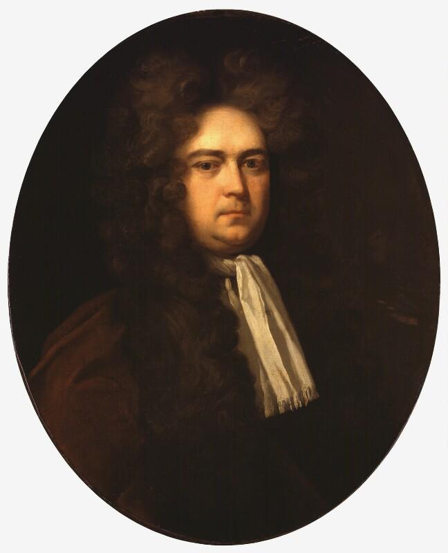 Sir George Rooke, studio of Michael Dahl, based on a work of circa 1700 - NPG 1992 - © National Portrait Gallery, London