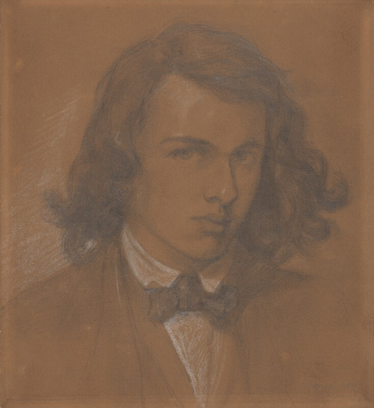 Dante Gabriel Rossetti, by Dante Gabriel Rossetti, 1847 -NPG 857 - © National Portrait Gallery, London