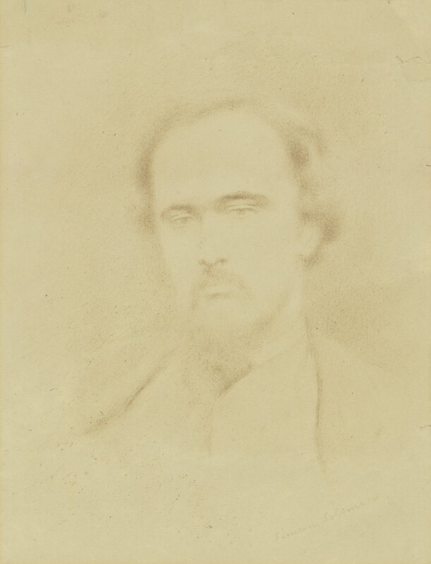 Dante Gabriel Rossetti, attributed to Simeon Solomon,  - NPG 1510 - © National Portrait Gallery, London