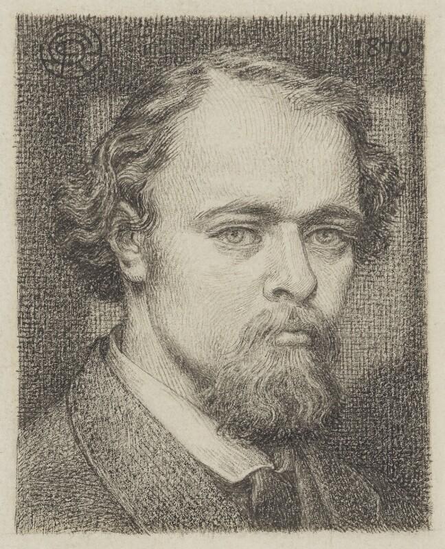 Dante Gabriel Rossetti, by Dante Gabriel Rossetti, circa 1870 - NPG 3033 - © National Portrait Gallery, London