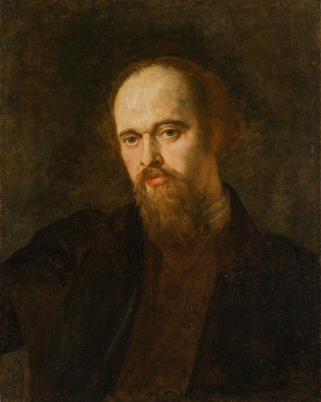 Dante Gabriel Rossetti, by George Frederic Watts, circa 1871 - NPG 1011 - © National Portrait Gallery, London