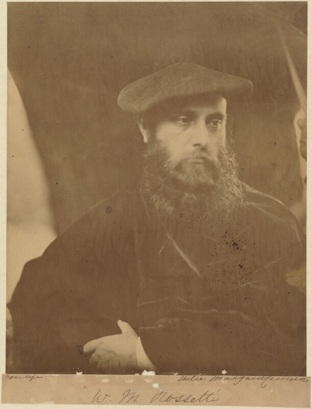William Michael Rossetti, by Julia Margaret Cameron, 19 July 1865 - NPG P126 - © National Portrait Gallery, London