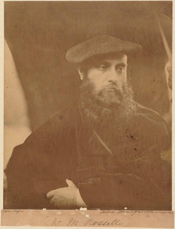 William Michael Rossetti, by Julia Margaret Cameron, 19 July 1865 - NPG P126 - © National Portrait Gallery, London