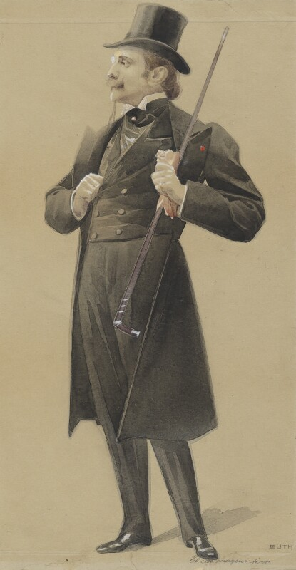 Edmond (Eugène Alexis) Rostand, by Jean Baptiste Guth ('GUTH'), before 1901 - NPG 4707(26) - © National Portrait Gallery, London