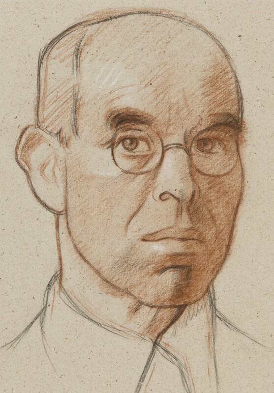 William Rothenstein, by William Rothenstein, circa 1930 - NPG 3880 - © National Portrait Gallery, London