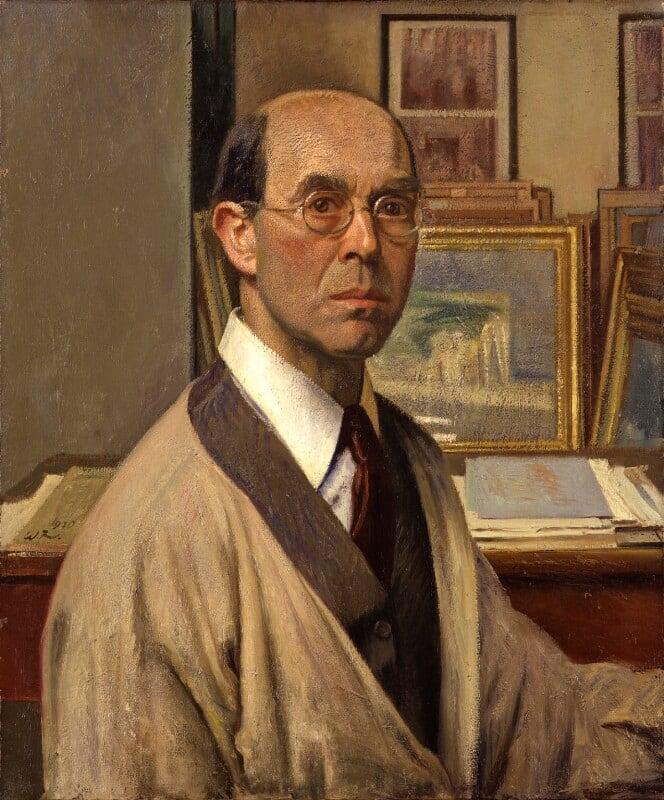 Sir William Rothenstein, by William Rothenstein, 1930 - NPG 5000 - © National Portrait Gallery, London