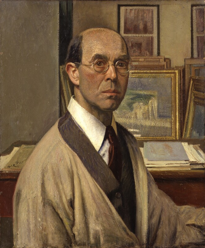 William Rothenstein, by William Rothenstein, 1930 - NPG 5000 - © National Portrait Gallery, London