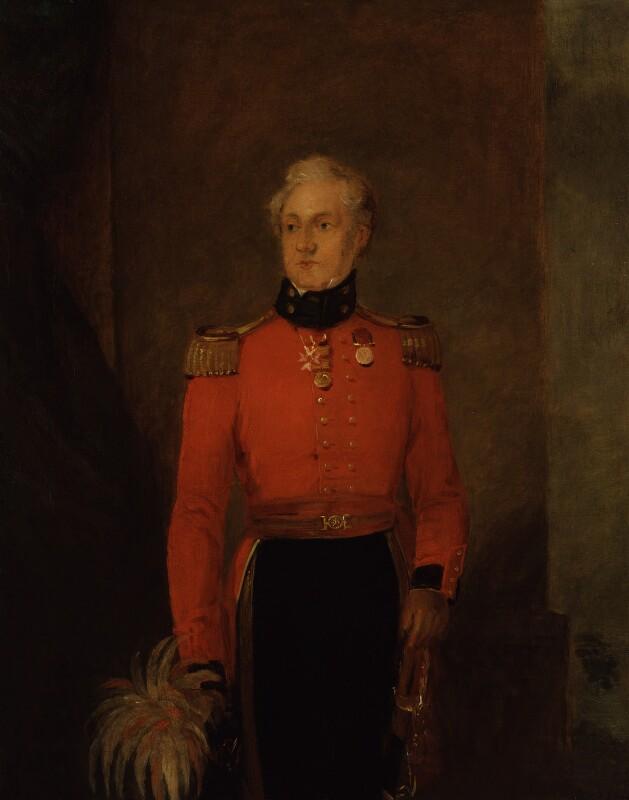 Sir Charles Rowan, by William Salter, 1834-1840 - NPG 3749 - © National Portrait Gallery, London