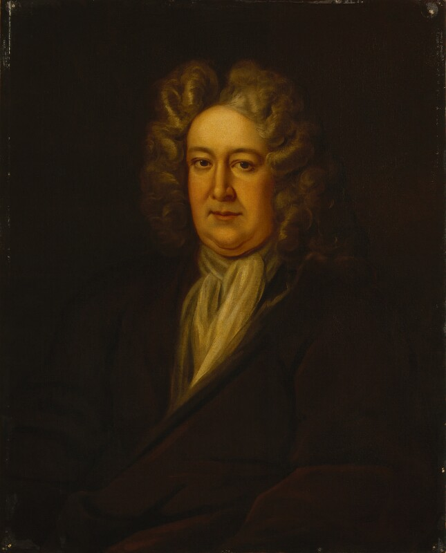 Unknown man, formerly known as Nicholas Rowe, by Unknown artist, 1700-1720 - NPG 1512 - © National Portrait Gallery, London