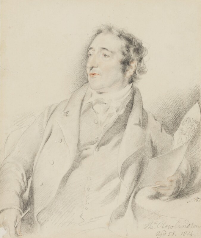 Thomas Rowlandson, by George Henry Harlow, 1814 - NPG 2813 - © National Portrait Gallery, London