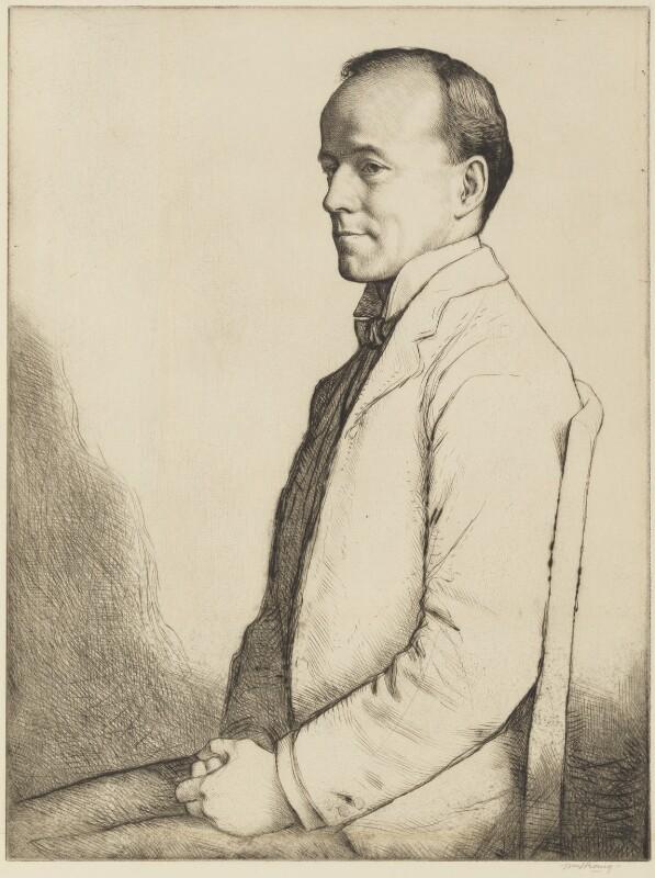 Walter Runciman, 1st Viscount Runciman of Doxford, by William Strang, 1913 - NPG 5157 - © National Portrait Gallery, London