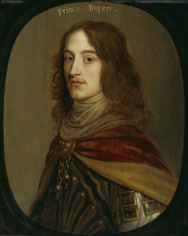 Prince Rupert, Count Palatine, by Gerrit van Honthorst, circa 1641-1642 - NPG 4519 - © National Portrait Gallery, London