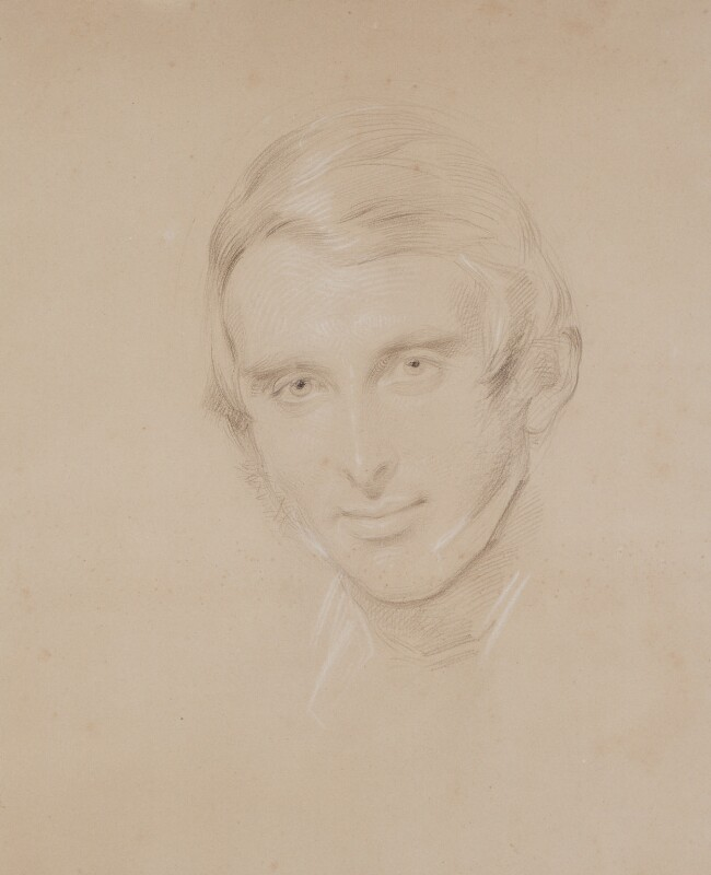 John Ruskin, by George Richmond, circa 1857 -NPG 1058 - © National Portrait Gallery, London