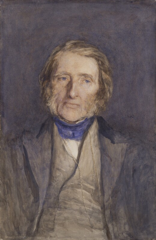 John Ruskin, by Sir Hubert von Herkomer, 1879 - NPG 1336 - © National Portrait Gallery, London