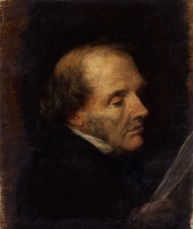 John Russell, 1st Earl Russell, by George Frederic Watts, circa 1851 - NPG 895 - © National Portrait Gallery, London