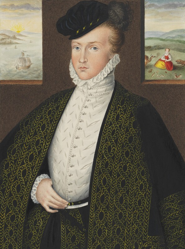Lord Francis Russell, by George Perfect Harding, after  Unknown artist, 19th century, based on a work of 1573 - NPG 2411 - © National Portrait Gallery, London