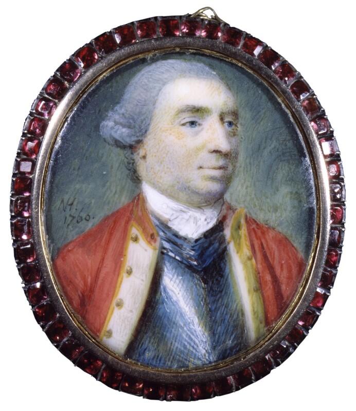 George Sackville Germain, 1st Viscount Sackville, by Nathaniel Hone, 1760 - NPG 4910 - © National Portrait Gallery, London