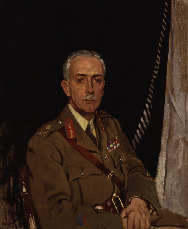 Charles Sackville-West, 4th Baron Sackville, by Sir William Orpen, 1919 - NPG 4649 - © National Portrait Gallery, London
