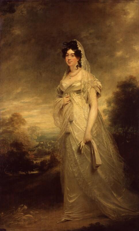 Harriot Beauclerk (née Mellon), Duchess of St Albans, by Sir William Beechey, circa 1815 - NPG 1915 - © National Portrait Gallery, London