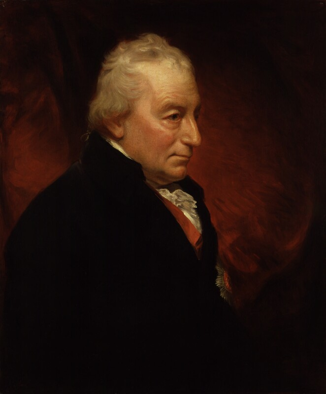 John Jervis, Earl of St Vincent, by Sir William Beechey, circa 1807-1809 - NPG 2222 - © National Portrait Gallery, London