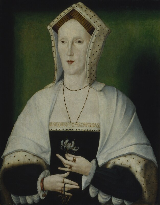 Unknown woman, formerly known as Margaret Pole, Countess of Salisbury, by Unknown artist, circa 1535 - NPG 2607 - © National Portrait Gallery, London