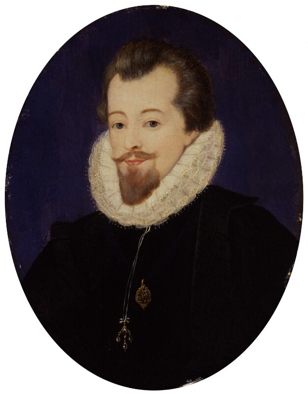 Robert Cecil, 1st Earl of Salisbury, after John De Critz the Elder, 19th century? - NPG 1115 - © National Portrait Gallery, London
