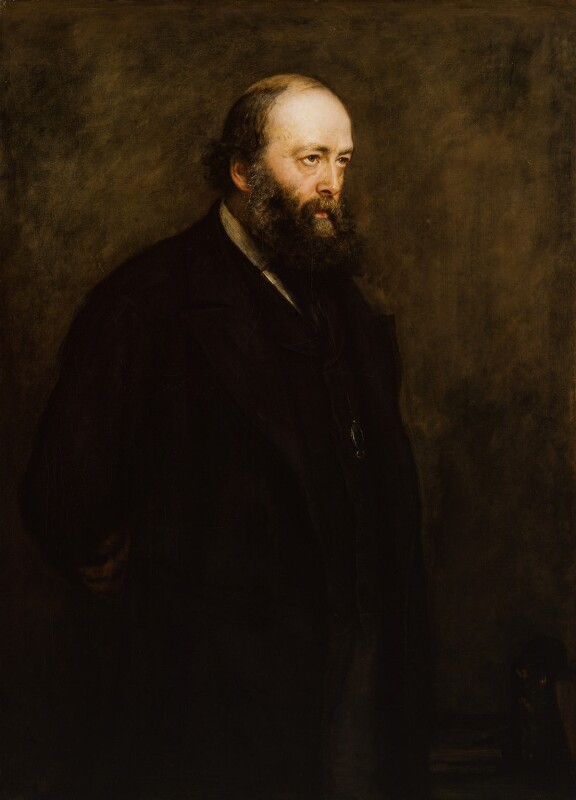 Robert Gascoyne-Cecil, 3rd Marquess of Salisbury, by Sir John Everett Millais, 1st Bt, 1883 - NPG 3242 - © National Portrait Gallery, London