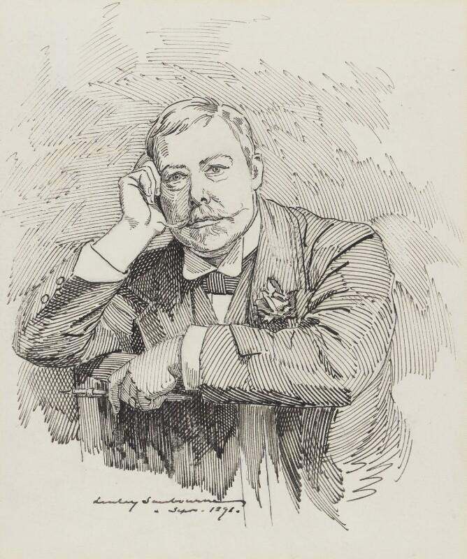 Linley Sambourne, by Linley Sambourne, 1891 -NPG 3034 - © National Portrait Gallery, London