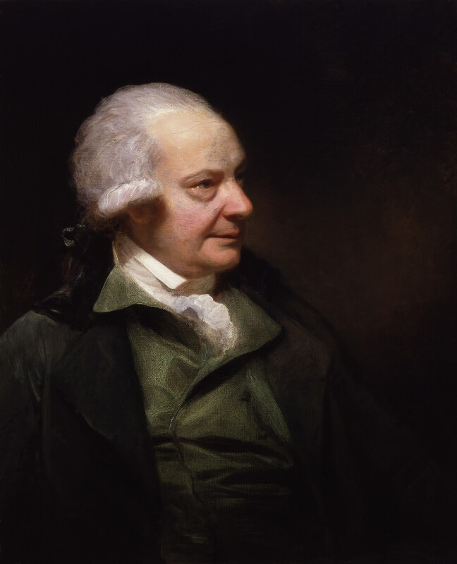 Paul Sandby, by Sir William Beechey, circa 1789 -NPG 1379 - © National Portrait Gallery, London