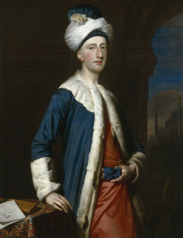 John Montagu, 4th Earl of Sandwich, by Joseph Highmore, 1740 - NPG 1977 - © National Portrait Gallery, London